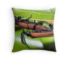 XXX rated natural history Throw Pillow