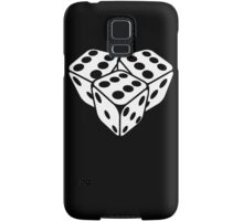 666 dice Samsung Galaxy Case/Skin