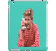 Zack Morris Saved By the Bell 90's Design iPad Case/Skin