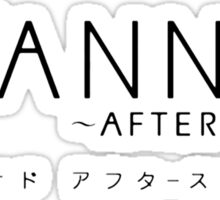 CLANNAD ~After Story~ Logo Sticker