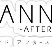 CLANNAD ~After Story~ Logo (2nd Variant) Sticker