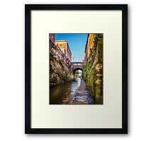 Chester Canal Towpath Framed Print