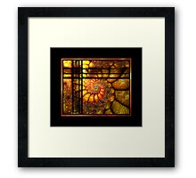 .. one Night as I looked Outside ... Framed Print