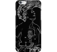 matty healy from the 1975 neon iPhone Case/Skin
