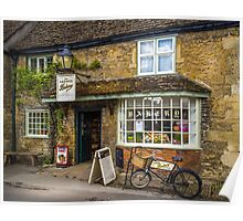 Lacock Bakery Poster
