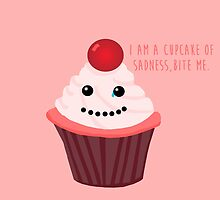 Cupcake of Sadness by Seggh