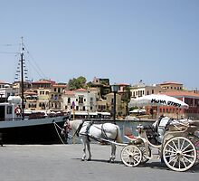 Old Harbor Of Chania, Island Of Crete GR (2) by Bentrouvakis