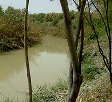 Jordan River Israel- Baptismal place of Jesus… by Ilunia Felczer
