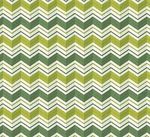 Chevron Stripes - Avocado by daisy-beatrice