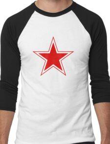 cccp russia star Men's Baseball ¾ T-Shirt