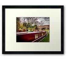 Narrowboat Framed Print
