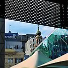 Forum Theatre from Federation Square by AnnieD