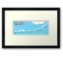 Key West.  Framed Print