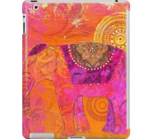 Happy Elephant II iPad Case/Skin