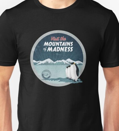 Visit the Mountains of Madness - Round Unisex T-Shirt