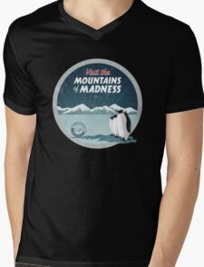 Visit the Mountains of Madness - Round Mens V-Neck T-Shirt