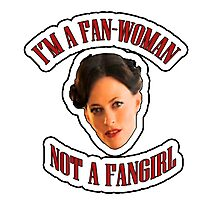 THE (FAN)WOMAN Photographic Print