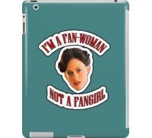 THE (FAN)WOMAN iPad Case/Skin