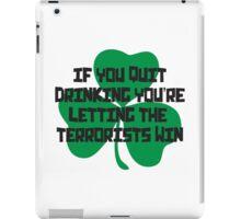 Irish Drinking Shirt iPad Case/Skin