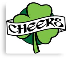 Irish Cheers  Canvas Print