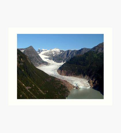 Glacier - Alaska Art Print