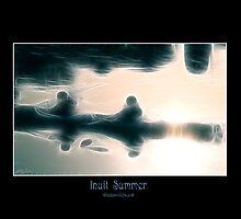 """""""Inuit Summer"""" (Kayaking) by Skye Ryan-Evans"""