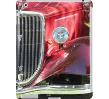 Red Roadster Red Roadster iPad Case/Skin