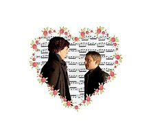 Johnlock-Heart (Two) by thescudders