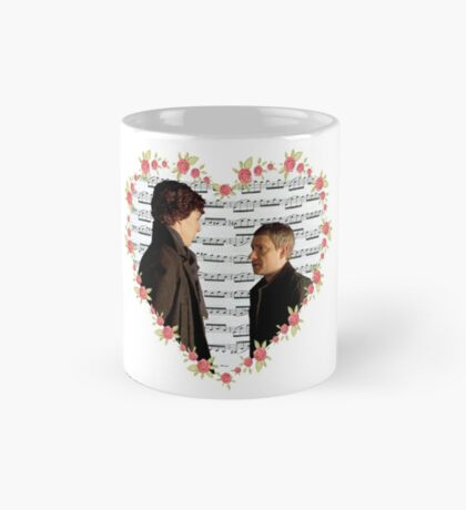Johnlock-Heart (Two) Mug