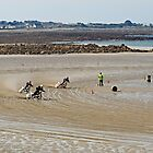 Bikes on the Sand by Karen Millard