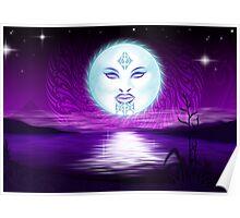 Maori Moon  Poster