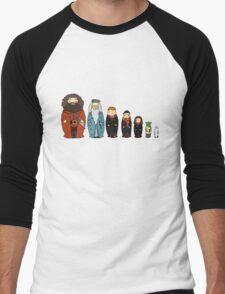 Potter-themed Nesting Dolls Men's Baseball ¾ T-Shirt