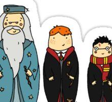 Potter-themed Nesting Dolls Sticker