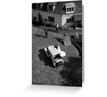 wedding from above Greeting Card