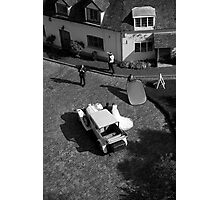 wedding from above Photographic Print