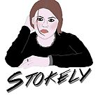 Stokely 'Stokes' Clea DuVall by GinaBascombe