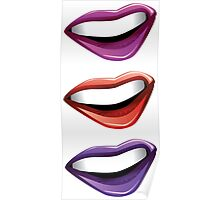 Colorful lips 2 Poster