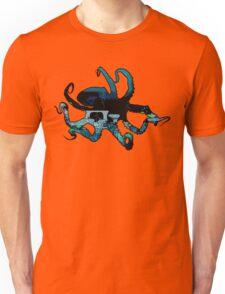 Deep Blue Octopus Unisex T-Shirt
