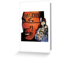 Winning, Michael Jordan Earth Fist, Motivational Greeting Card