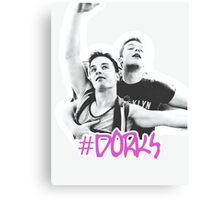 #dorks - Gallavich - Cameron Monaghan & Noel Fisher Canvas Print