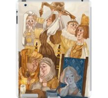 Joan of Arc - court life iPad Case/Skin