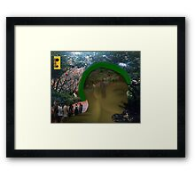 Living In The Light (Consciously Being)  Framed Print