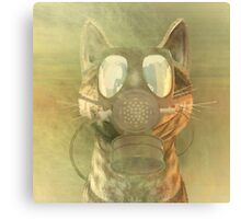 Schrödinger underestimates the cat Canvas Print
