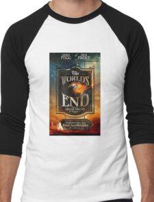 Worlds end Men's Baseball ¾ T-Shirt