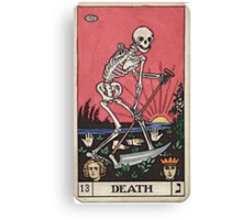 Death Tarot Canvas Print