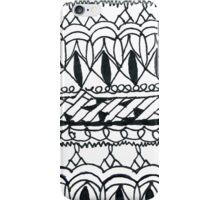 Elegant scketch iPhone Case/Skin