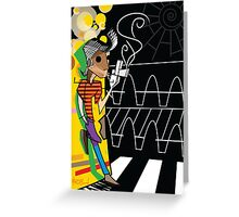 The Trickster  Greeting Card