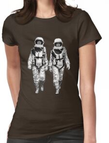 The Hero Walk Womens Fitted T-Shirt
