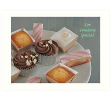 Cake Variety for Someone Special Art Print