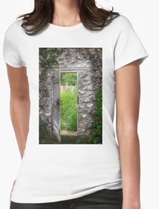 Doorway to Eden Womens Fitted T-Shirt